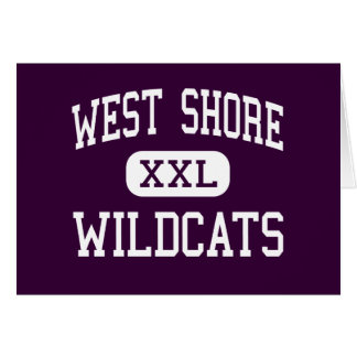 West Shore - Wildcats - Senior - Melbourne Florida Greeting Cards