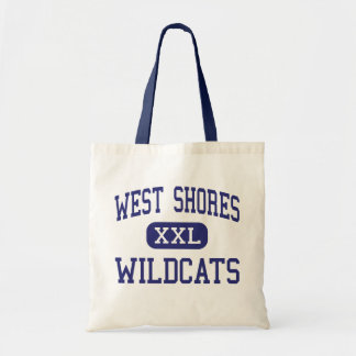 West Shores - Wildcats - High - Salton City Tote Bags