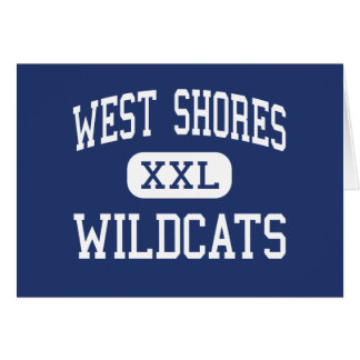 West Shores - Wildcats - High - Salton City Greeting Card