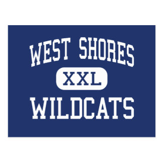 West Shores - Wildcats - High - Salton City Post Cards