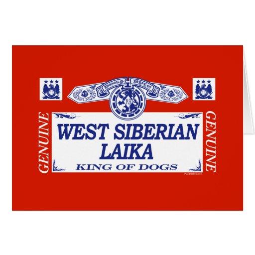 West Siberian Laika Greeting Card