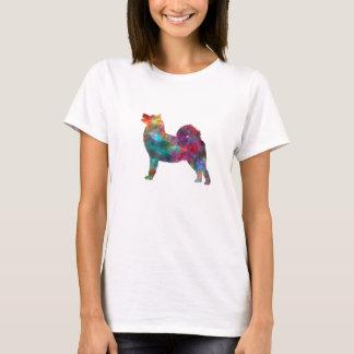 West Siberian Laika in watercolor T-Shirt