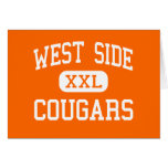 West Side - Cougars - High School - Gary Indiana Cards