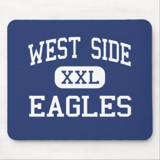 West Side Eagles Middle Ethridge Tennessee Mouse Pad