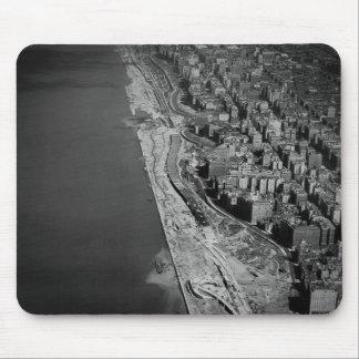 West Side Highway Riverside Drive and Hudson River Mousepads