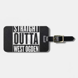 West side wear luggage tag