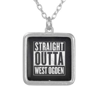 West side wear silver plated necklace