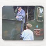 West Somerset Railway, Bishops Lydeard station, UK Mouse Mat