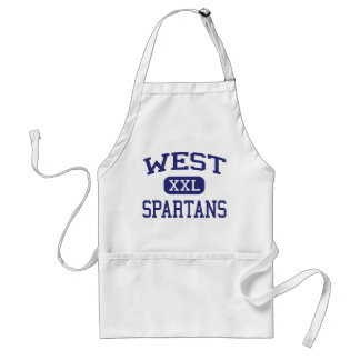 West - Spartans - High - West Bend Wisconsin Adult Apron