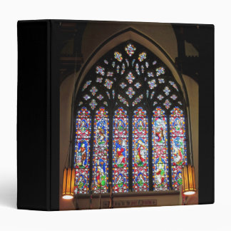 West Stained Glass Window Christ Church Cathedral 3 Ring Binder