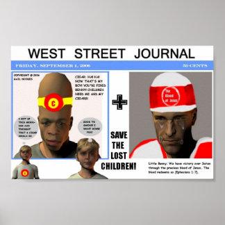 West Street Journal Poster