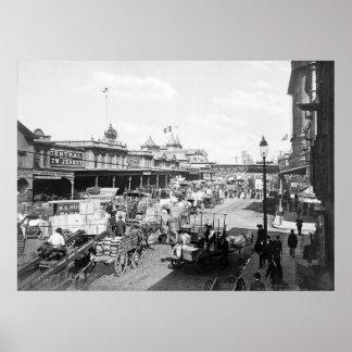 West Street, New York City: 1901 Poster