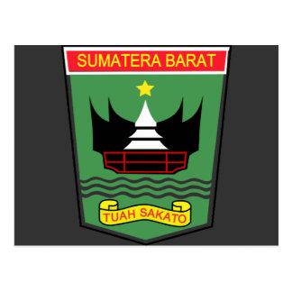 West Sumatra, Indonesia Postcard