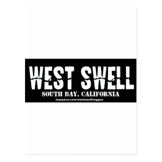 west swell postcard