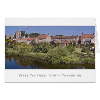 West Tanfield, North Yorkshire Card