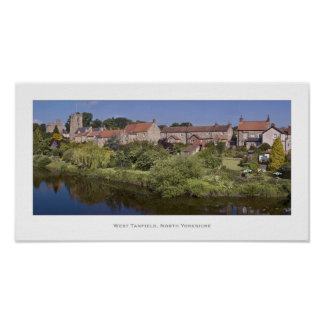 West Tanfield, North Yorkshire Print