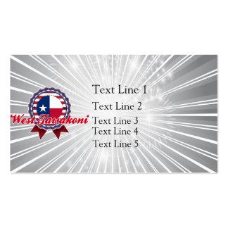 West Tawakoni, TX Business Cards