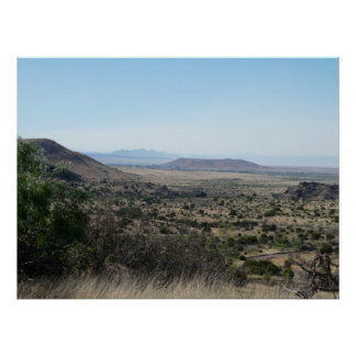 West Texas Desert Poster