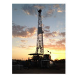 West Texas Drilling Rig Post Cards