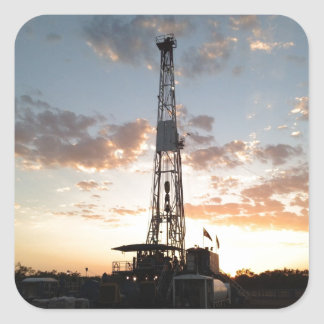 West Texas Drilling Rig Stickers