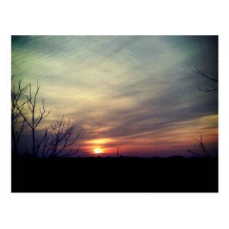 West Texas sunrise Postcard