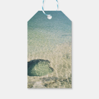 West Thumb Basin Submerged Geyser Gift Tags