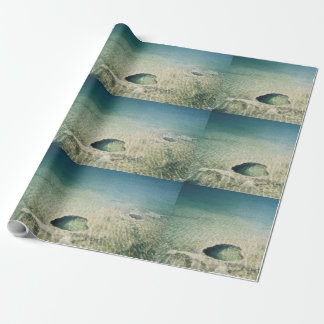 West Thumb Basin Submerged Geyser Wrapping Paper