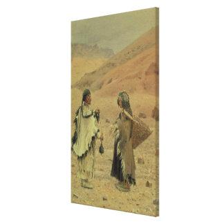 West Tibetans, 1875 Stretched Canvas Prints
