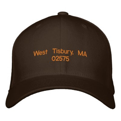 West Tisbury, MA 02575 - ball cap Embroidered Baseball Caps