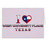 West University Place, Texas Greeting Card
