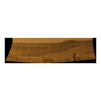 West Valley Panorama Mars Exploration Rover Spirit Poster