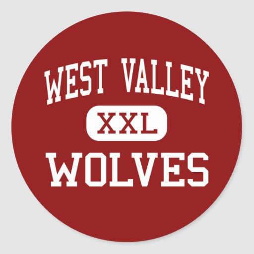 West Valley - Wolves - Middle - Knoxville Stickers