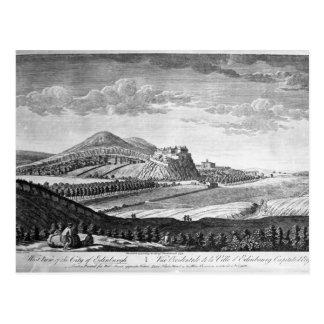 West View of the City of Edinburgh, 1753 Postcard