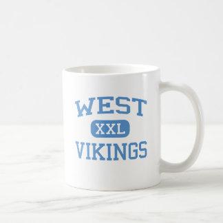 West - Vikings - Junior - Columbia Missouri Classic White Coffee Mug