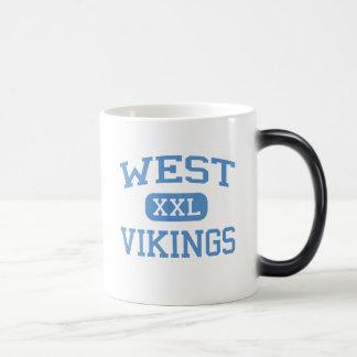 West - Vikings - Junior - Columbia Missouri 11 Oz Magic Heat Color-Changing Coffee Mug