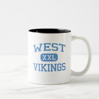 West - Vikings - Junior - Columbia Missouri Two-Tone Coffee Mug