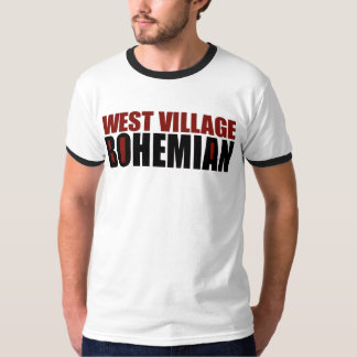 WEST VILLAGE BOHEMIAN: NEW YORK CITY T-Shirt