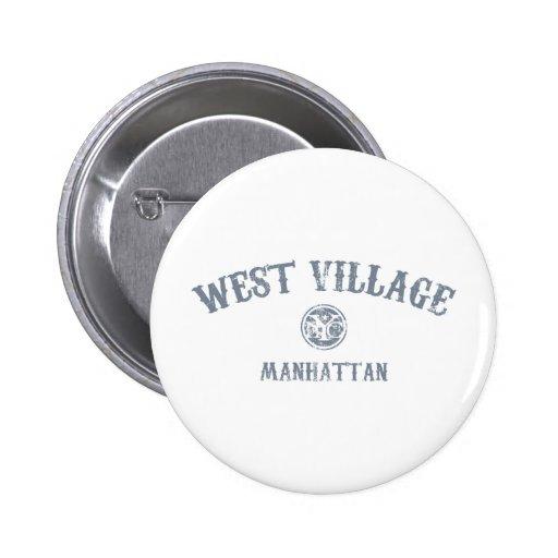 West Village Buttons