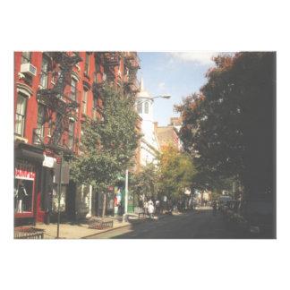 West Village New York City Invite