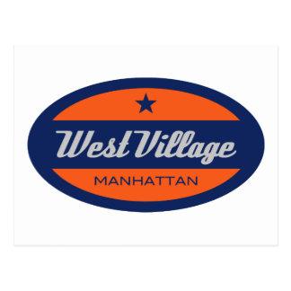 West Village Postcard