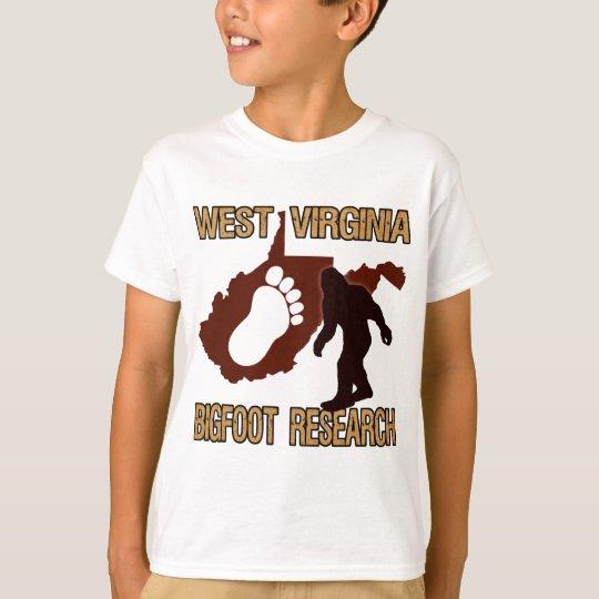 West Virgina Bigfoot Research T-Shirt