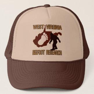 West Virgina Bigfoot Research Trucker Hat