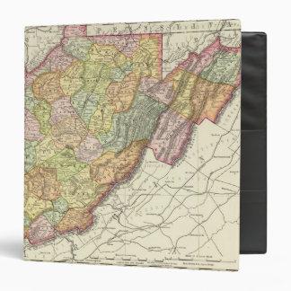 West Virginia 3 Ring Binder