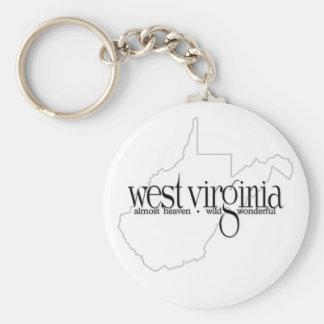 West Virginia_AHWW-lite Keychain
