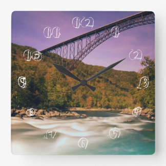 West Virginia, Babcock State Park Square Wall Clock