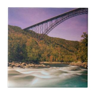 West Virginia, Babcock State Park Tile
