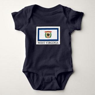 West Virginia Baby Bodysuit