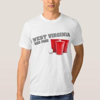 West Virginia Beer Pong T-Shirt