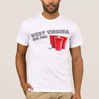 West Virginia Beer Pong T-Shirt