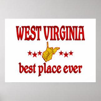 West Virginia Best Poster
